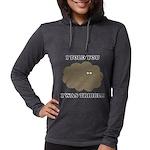 Star Trek Tribbles Womens Hooded Shirt