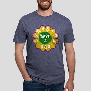 Brady Bunch Sunshine Day Mens Tri-blend T-Shirt