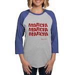 Marcia Marcia Marcia Womens Baseball Tee
