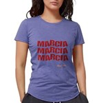 Marcia Marcia Marcia Womens Tri-blend T-Shirt