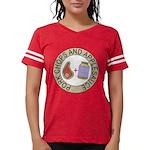 Pork Chops and Applesauce. Womens Football Shirt