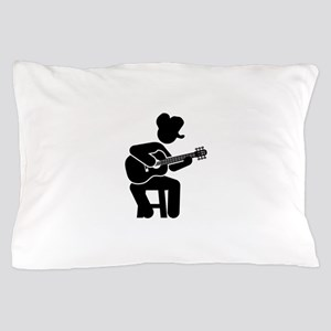 Country Musician Pillow Case