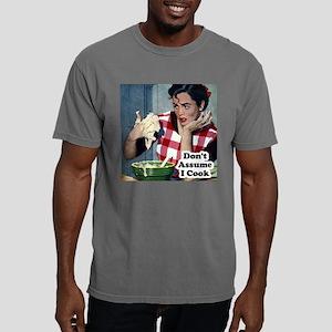 Dont Assume I Cook Mens Comfort Colors Shirt