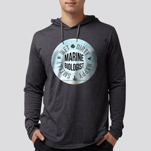 Marine Biologist Mens Hooded Shirt