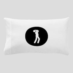 Harmonica Player Pillow Case