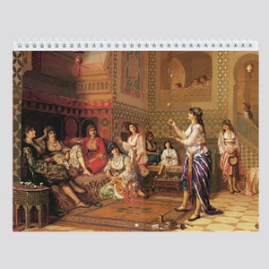 Orientalist Images Collection Wall Calendar