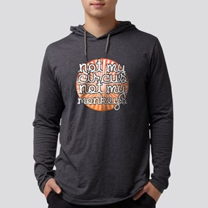 Not My Circus Mens Hooded Shirt
