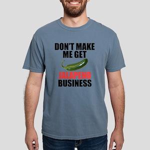 Jalapeno Business Mens Comfort Colors Shirt