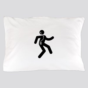 Listening To Music Pillow Case