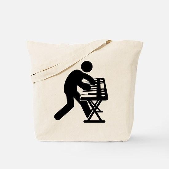 Keyboardist Tote Bag