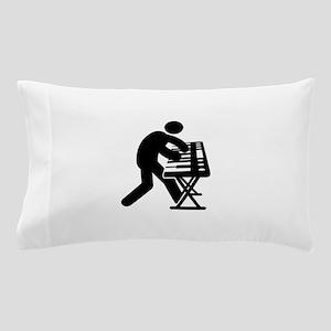 Keyboardist Pillow Case