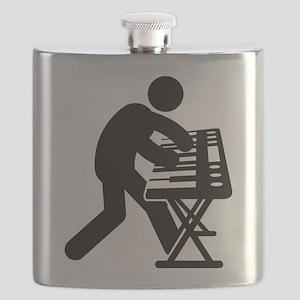 Keyboardist Flask