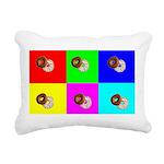 Andy Warhola Bagels Rectangular Canvas Pillow