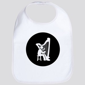 Harp Player Bib