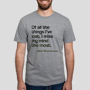 I Lost My Mind Mens Tri-blend T-Shirt
