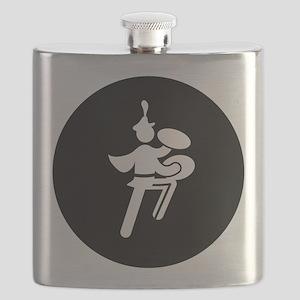 Bass Cymbal Flask