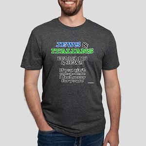 Jews and Italians Mens Tri-blend T-Shirt