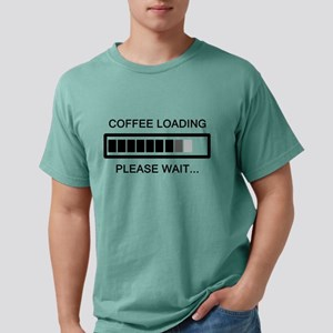Coffee Loading Please Wait Mens Comfort Colors Shi