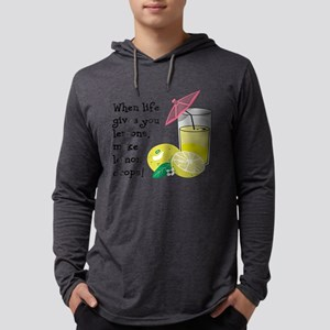Lemon Drop Martini Mens Hooded Shirt