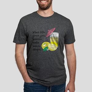 Lemon Drop Martini Mens Tri-blend T-Shirt