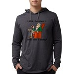I Drink Therefore I Am Mens Hooded Shirt