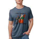 I Drink Therefore I Am Mens Tri-blend T-Shirt