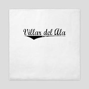 Villar del Ala, Aged, Queen Duvet