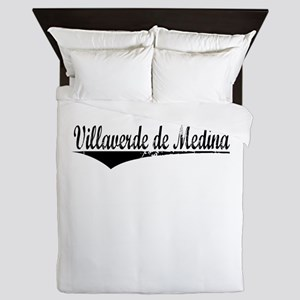 Villaverde de Medina, Aged, Queen Duvet