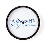 Asheville NC Wall Clock