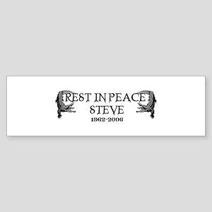 RIP Steve Irwin Bumper Sticker