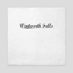 Wentworth Falls, Aged, Queen Duvet