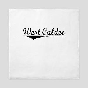 West Calder, Aged, Queen Duvet