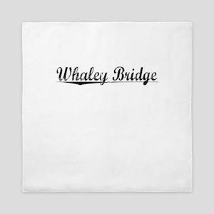 Whaley Bridge, Aged, Queen Duvet