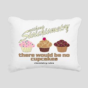 CupcakeChemistry Rectangular Canvas Pillow