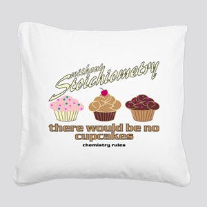CupcakeChemistry Square Canvas Pillow