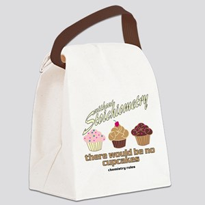 CupcakeChemistry Canvas Lunch Bag