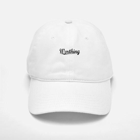 Worthing, Aged, Baseball Baseball Cap