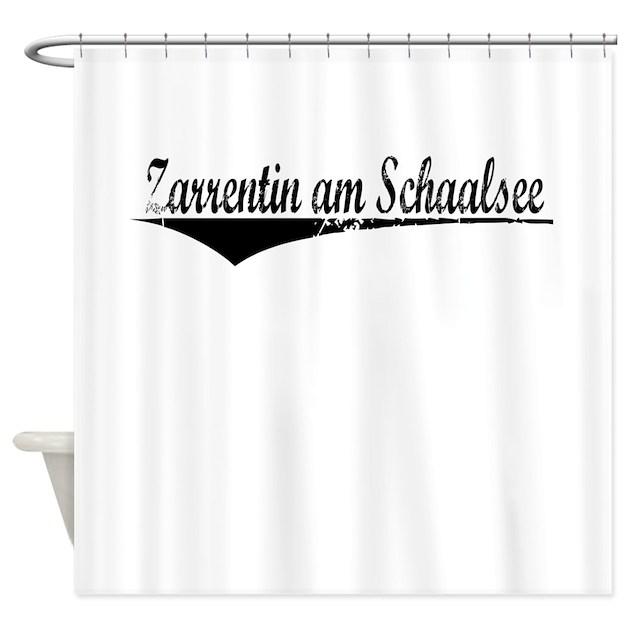 zarrentin am schaalsee aged shower curtain by thecafemarket. Black Bedroom Furniture Sets. Home Design Ideas