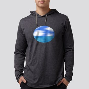 OCEAN BREEZE Mens Hooded Shirt