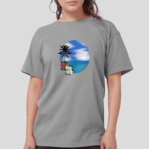 PALM SWEPT Womens Comfort Colors Shirt
