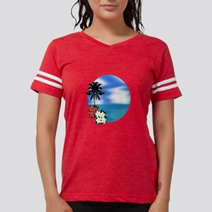 PALM SWEPT Womens Football Shirt