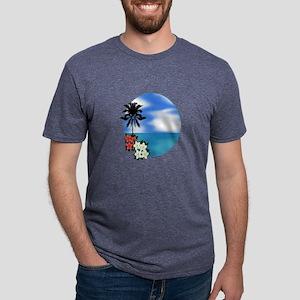 PALM SWEPT Mens Tri-blend T-Shirt