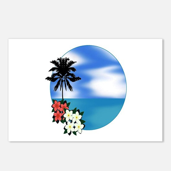 PALM SWEPT Postcards (Package of 8)