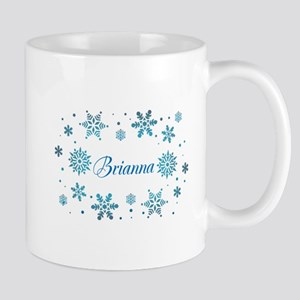 Custom name Snowflakes Mug