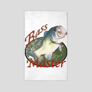 Bass master 3'x5' Area Rug