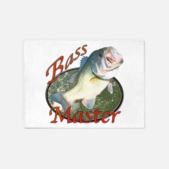 Bass master 5'x7'Area Rug