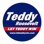 Teddy Car Magnet