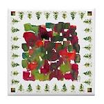 Marina's xmas Tile Coaster