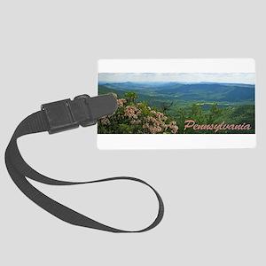 Pennsylvania Mountain Laurel Large Luggage Tag
