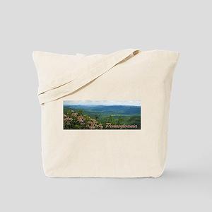 Pennsylvania Mountain Laurel Tote Bag